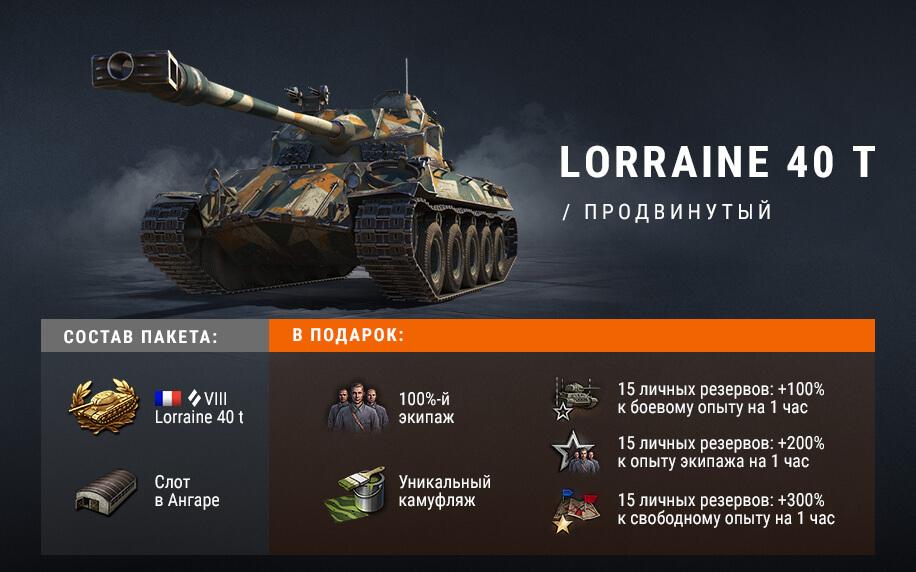 Наборы с премиум танками для фарма в «Линии фронта» в World of Tanks